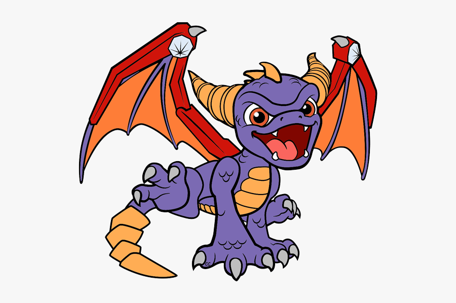 Spyro Skylanders Coloring Pages Free Transparent Clipart Clipartkey