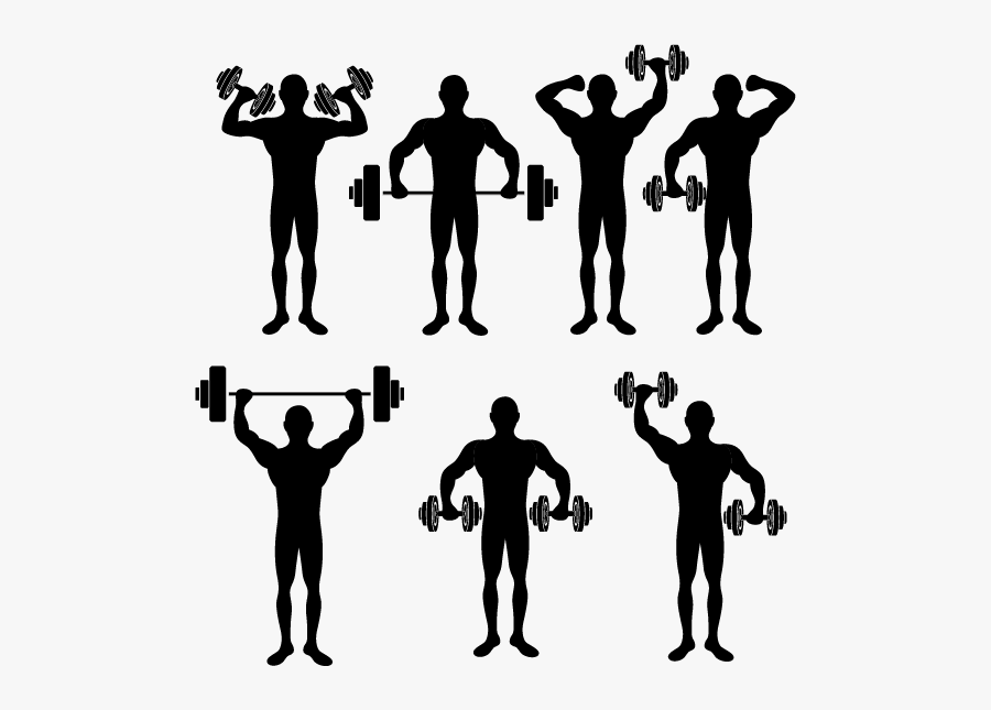 Physical Exercise Physical Fitness Stretching Silhouette