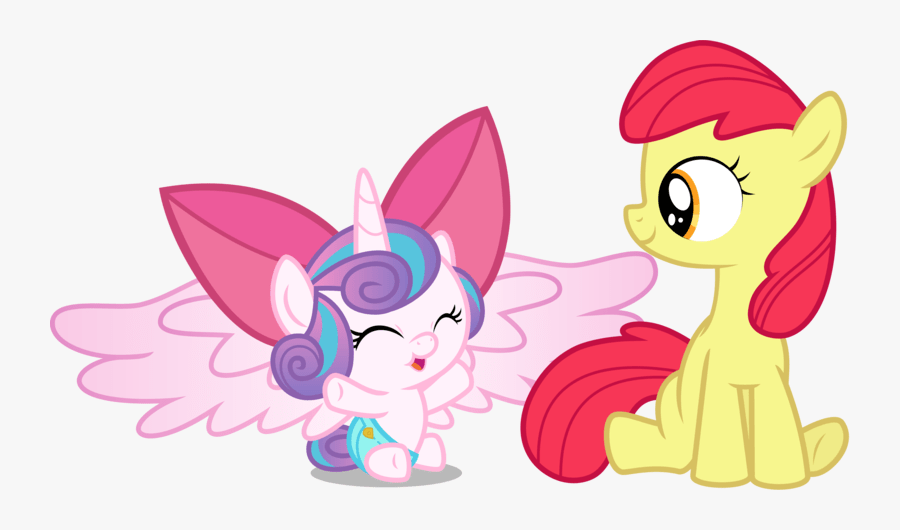 Mlp Apple Bloom Bow Free Transparent Clipart Clipartkey