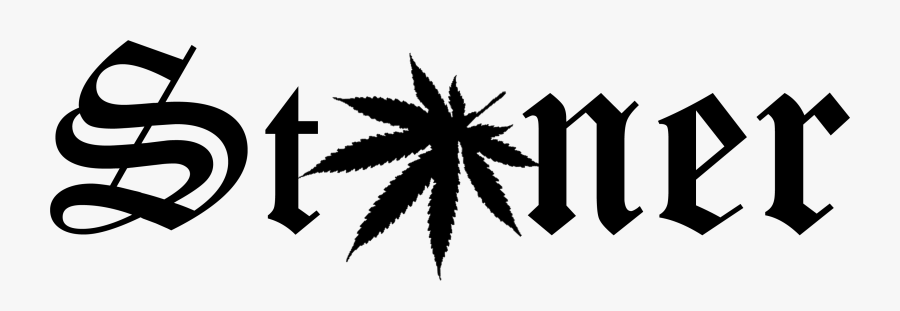 Black And White Clipart Stoner , Free Transparent Clipart