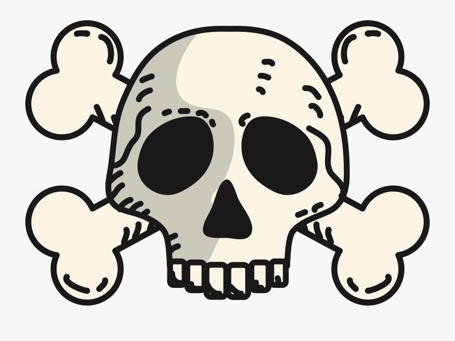 Skull And Crossbones Clipart At Getdrawings Transparent Skull Crossbones Vector Free Transparent Clipart Clipartkey
