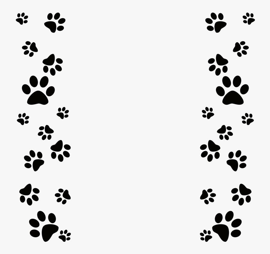 Paw Print Clip Art Dog Powerpoint Template Transparent