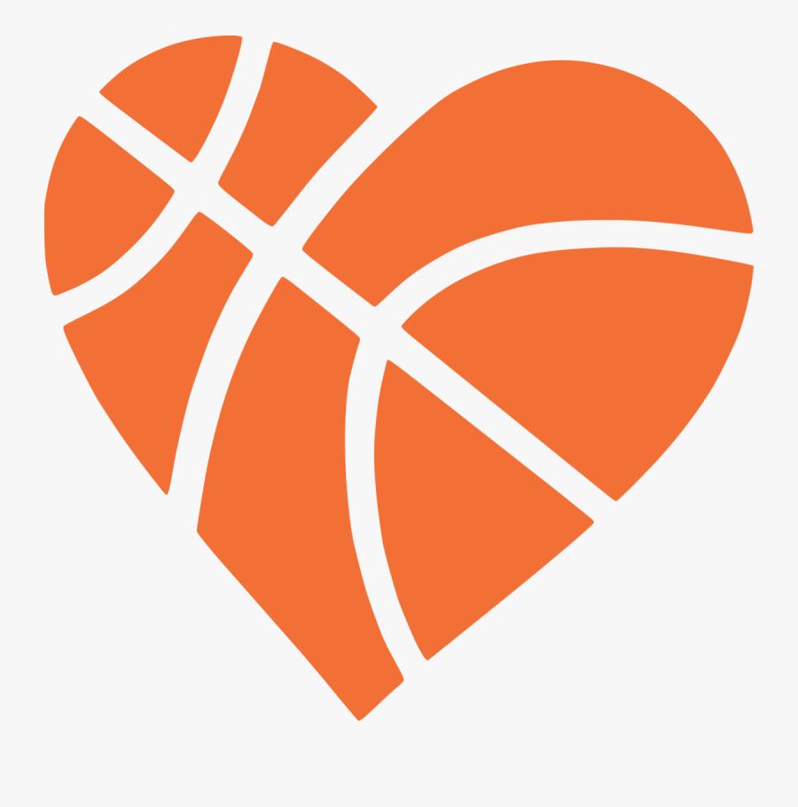 Download Heart Basketball Clipart - Free Basketball Heart Svg ...