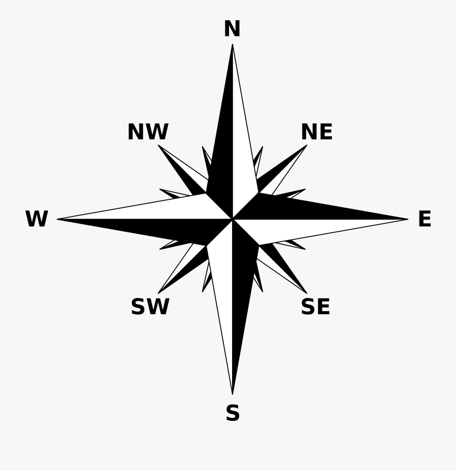 North East South West Arrow . Free Transparent Clipart - ClipartKey