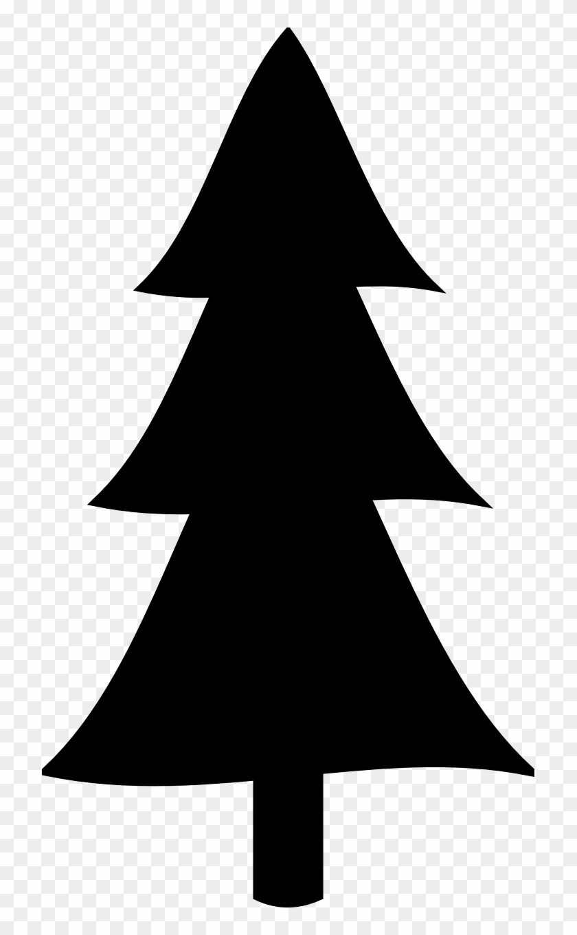 hight resolution of pine tree clipart silhouette