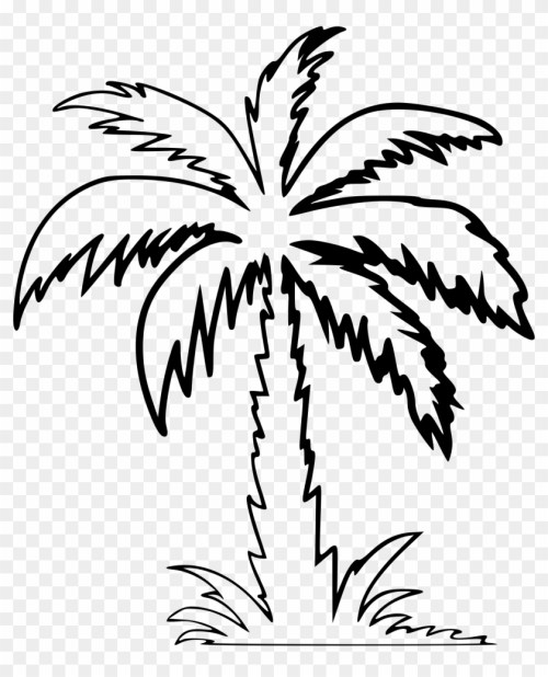 small resolution of clipart palm tree clip art