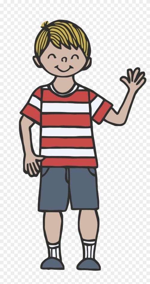 small resolution of child waving goodbye clipart tall boy clip art