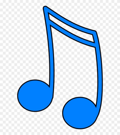 small resolution of color clipart music blue music note clip art 9159