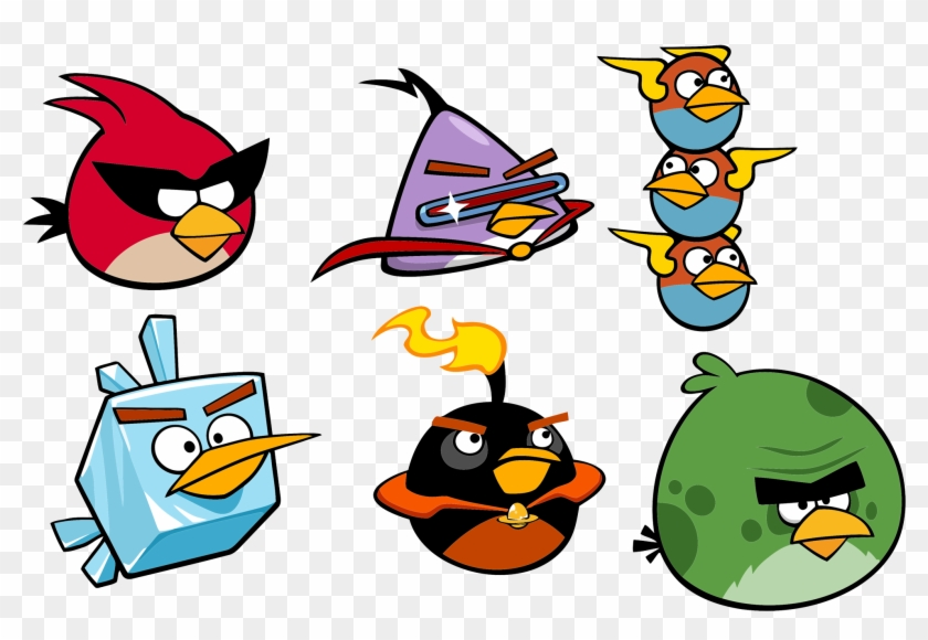 vector angry bird space