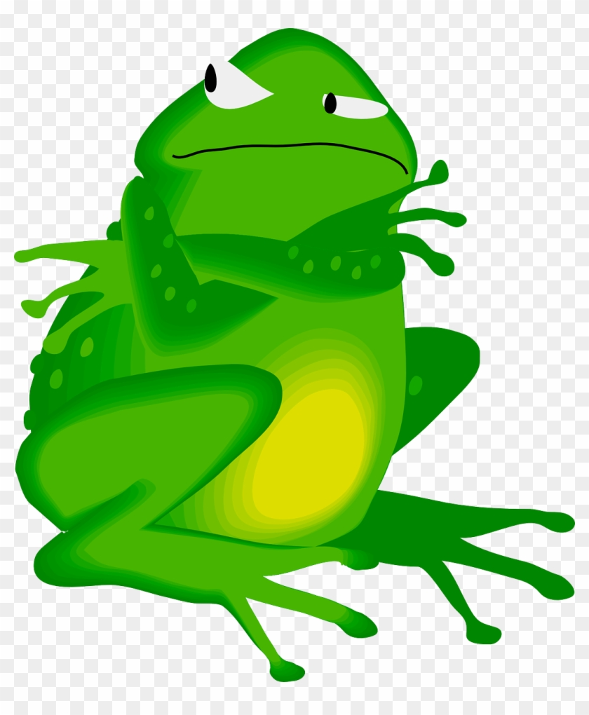 medium resolution of angry frog cliparts i m getting the last word