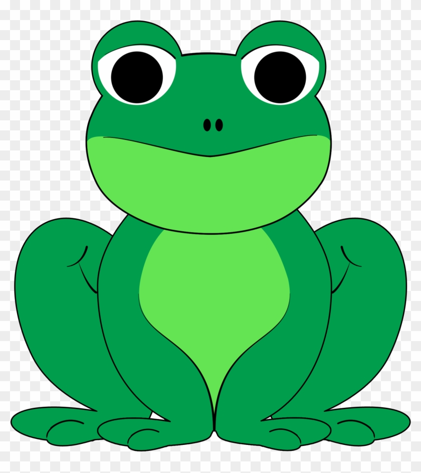 hight resolution of cute hopping frog clipart free images clipart of a frog 16688