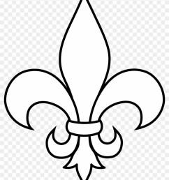 black and white fleur de lis outline fleur de lis clip art 77949 [ 840 x 1053 Pixel ]