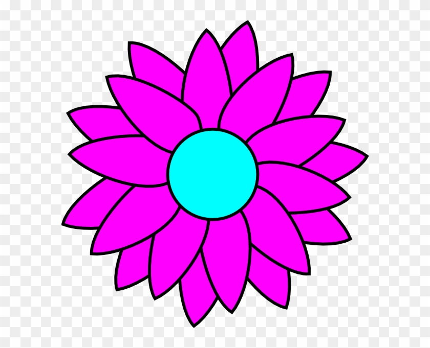 Simple Flower Coloring Pages Free Transparent Png Clipart Images Download