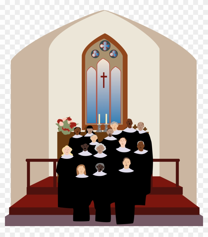 hight resolution of church art images choir singing in the church clipart