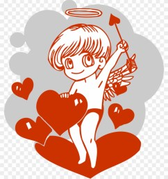 cupid valentines day illustration cupid valentines day illustration [ 840 x 983 Pixel ]