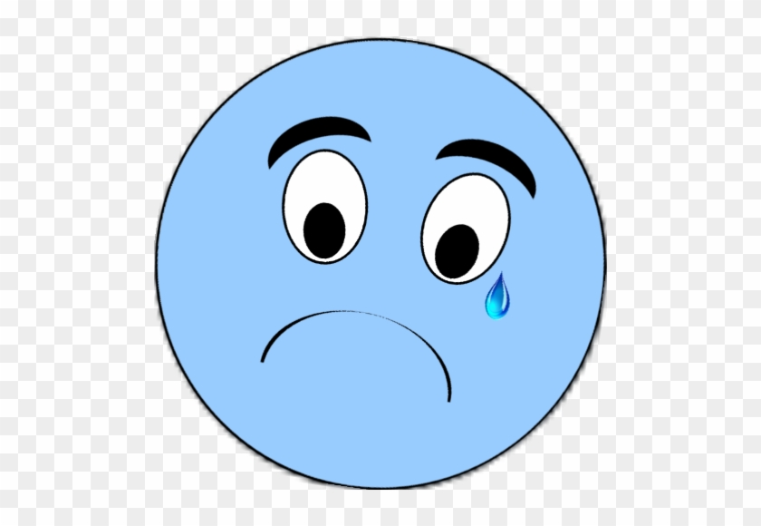 Sad Faceed Blue Smily Blue Sad Face Clipart Free Transparent Png Clipart Images Download