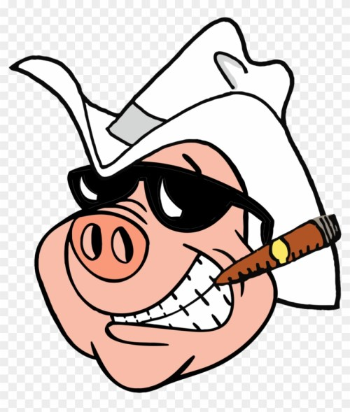 small resolution of boss hogg of the radio cowboy hat clipart