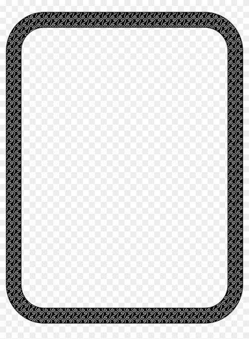 small resolution of winter love heart border black and white