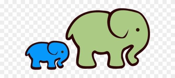 free baby elephant clipart