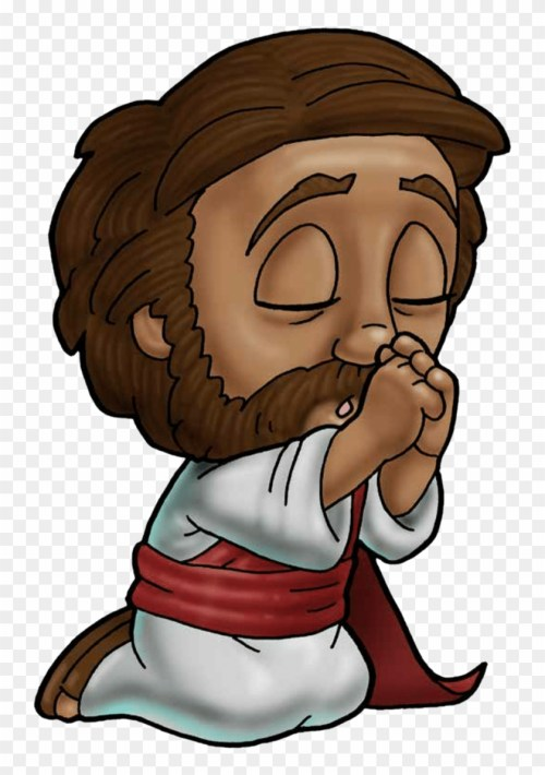 small resolution of brown clipart jesus jesus cartoon picture praying