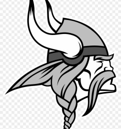 minnesota vikings logo black and white vikings logo [ 840 x 1075 Pixel ]