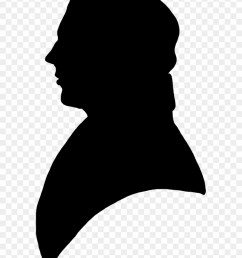 victorian silhouette clipart old man profile silhouette [ 840 x 1085 Pixel ]
