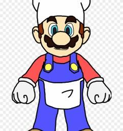 mario cooking cliparts mario as a cook [ 840 x 1221 Pixel ]