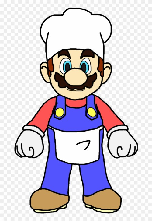 small resolution of mario cooking cliparts mario as a cook