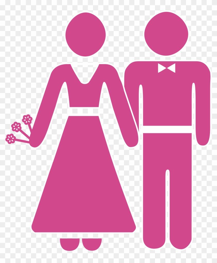 medium resolution of wedding invitation marriage icon bride and groom cartoon icon