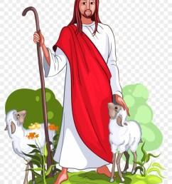 jesus is a good shepherd vector image on vectorstock desenho do bom pastor [ 840 x 1104 Pixel ]