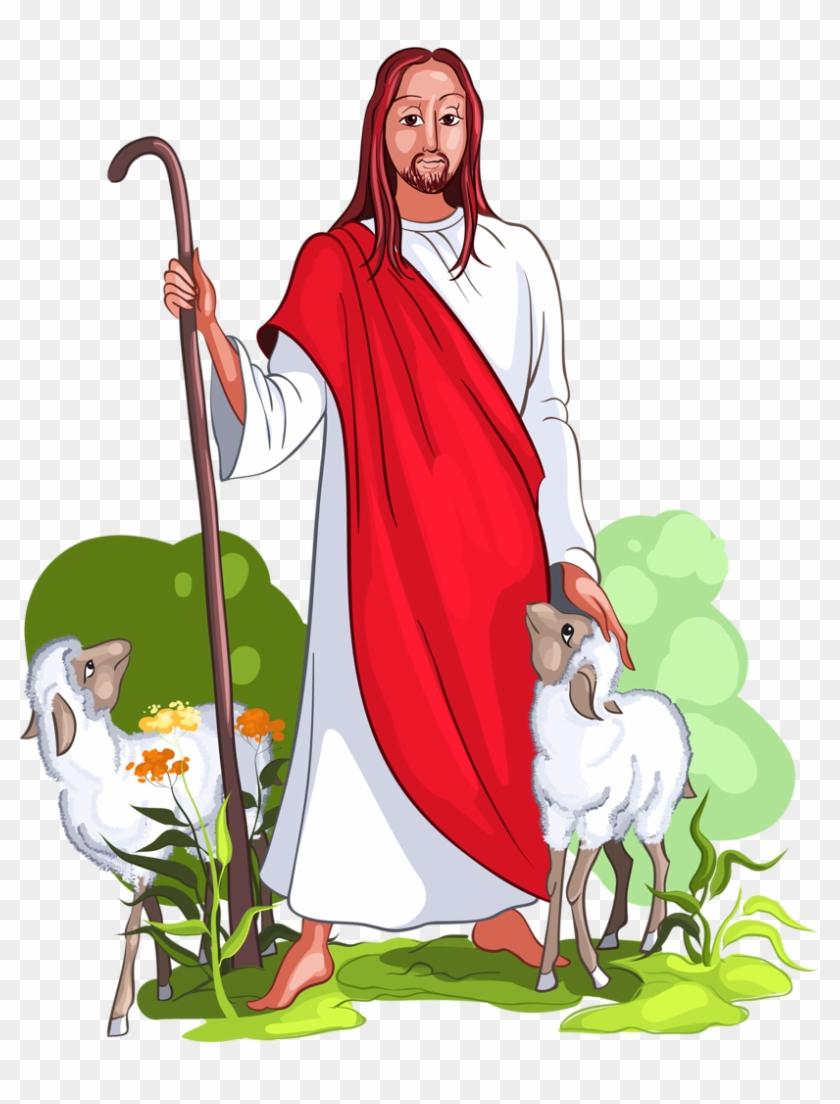 medium resolution of jesus is a good shepherd vector image on vectorstock desenho do bom pastor