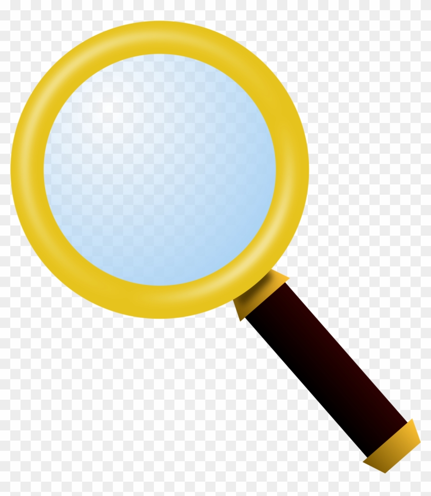 medium resolution of magnifying glass clipart magnifying glass clipart yellow 95890