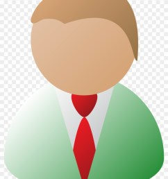 man computer icon user outline symbol people business person [ 840 x 1135 Pixel ]