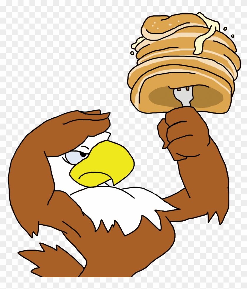 hight resolution of pancake eagle by blueike on clipart library eagle pancake