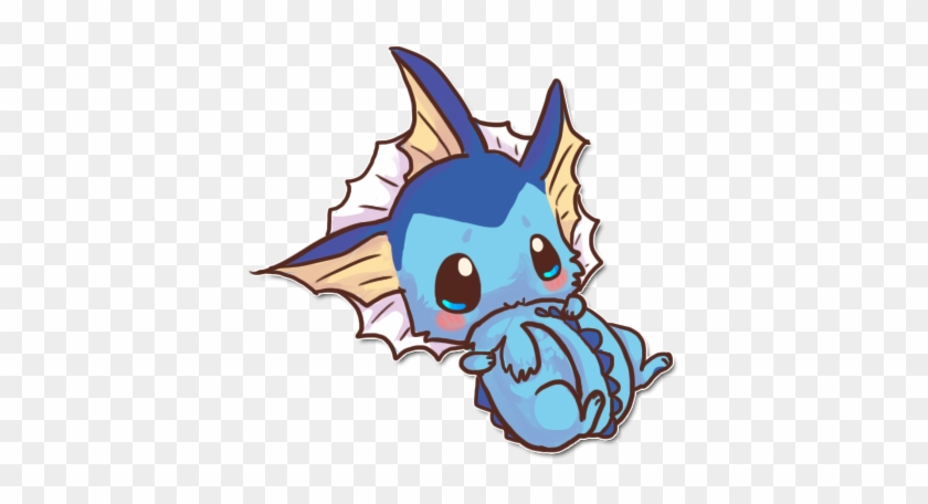 Vaporeon Drawing Cute Pokemon Kawaii Free Transparent Png Clipart Images Download