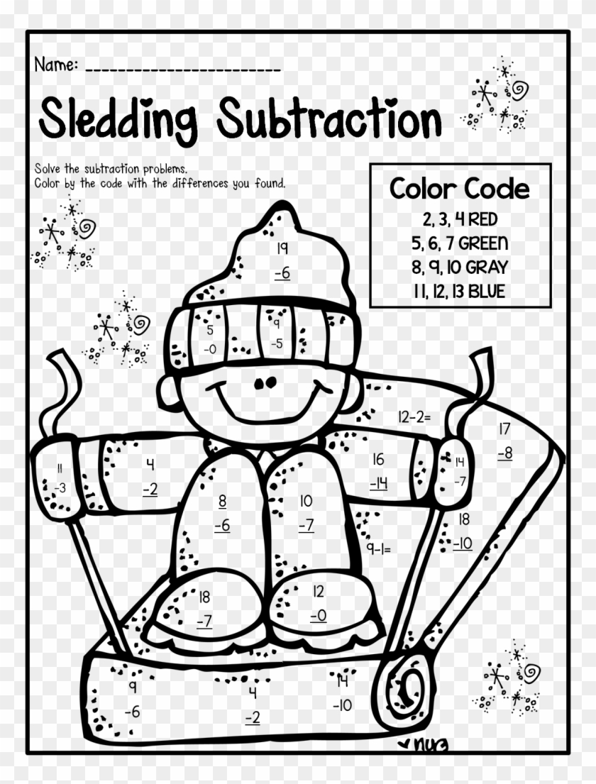 medium resolution of Delighted Winter Theme Activities And Printables For - 1st Grade Fun Maths  Worksheets - Free Transparent PNG Clipart Images Download