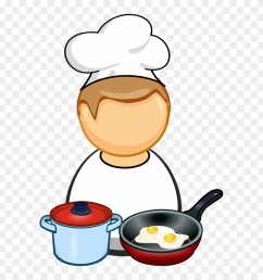 comic characters cook cooking egg food fry pan cooking clipart [ 840 x 1196 Pixel ]