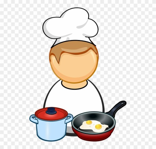 small resolution of comic characters cook cooking egg food fry pan cooking clipart