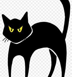 halloween black cat clipart halloween black cay [ 840 x 1201 Pixel ]