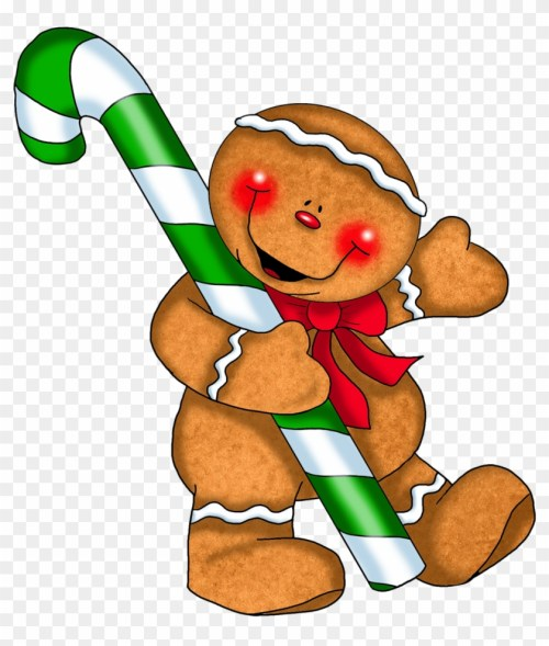 small resolution of pin christmas candy cane border clip art gingerbread man holding a candy cane