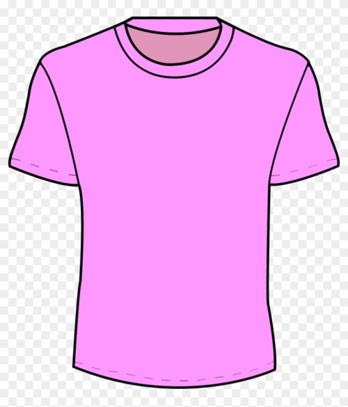 small resolution of girl t shirt clipart clip art library pink t shirt template