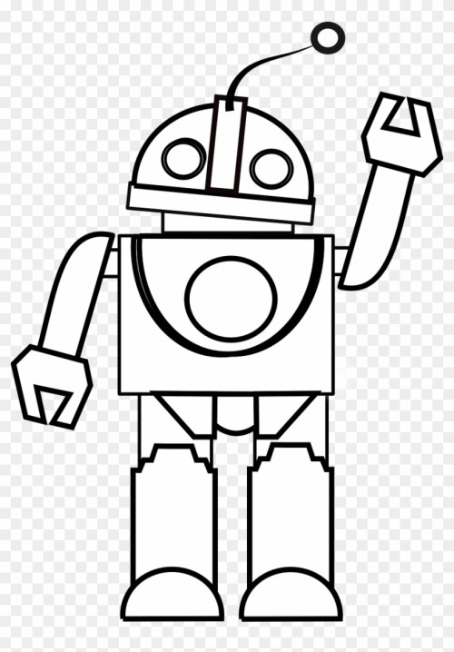 small resolution of toy clipart black and white robot black and white clipart