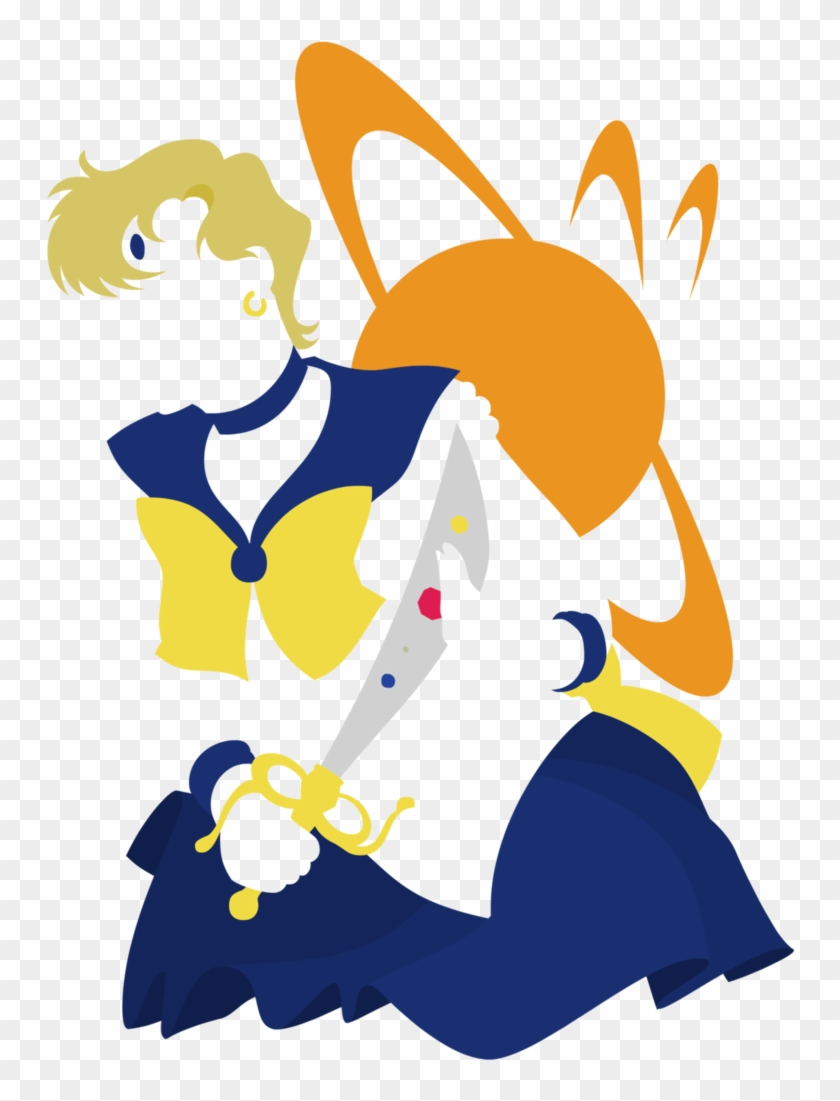 medium resolution of uranus minimalist by empty brooke on deviantart sailor saturn 653424