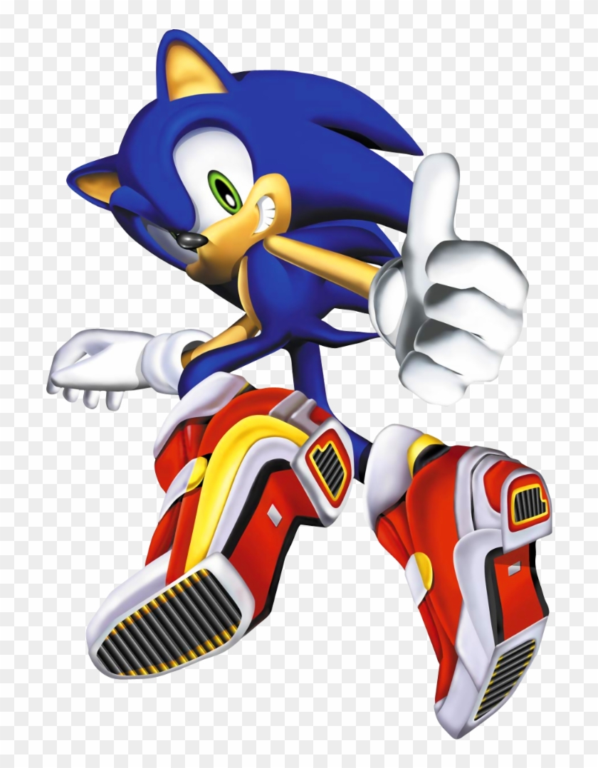 but dreamcast sonic is