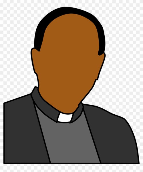 small resolution of what is the vicar s role priest clip art 683076
