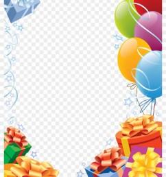 confetti clipart birthday frames happy birthday transparent frame [ 840 x 1147 Pixel ]