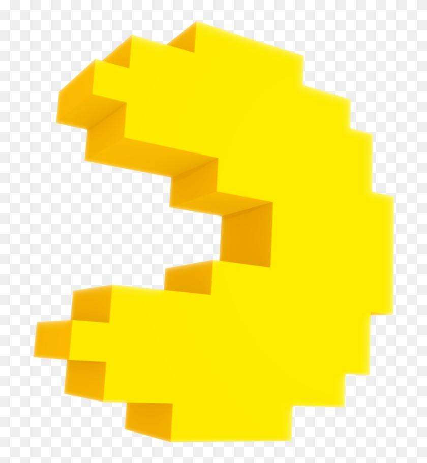 Pac Man Nibroc Rock Pixel Pacman Render Free Transparent Png Clipart Images Download