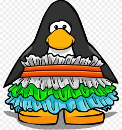 snow cone ruffle dress from a player card club penguin [ 840 x 981 Pixel ]