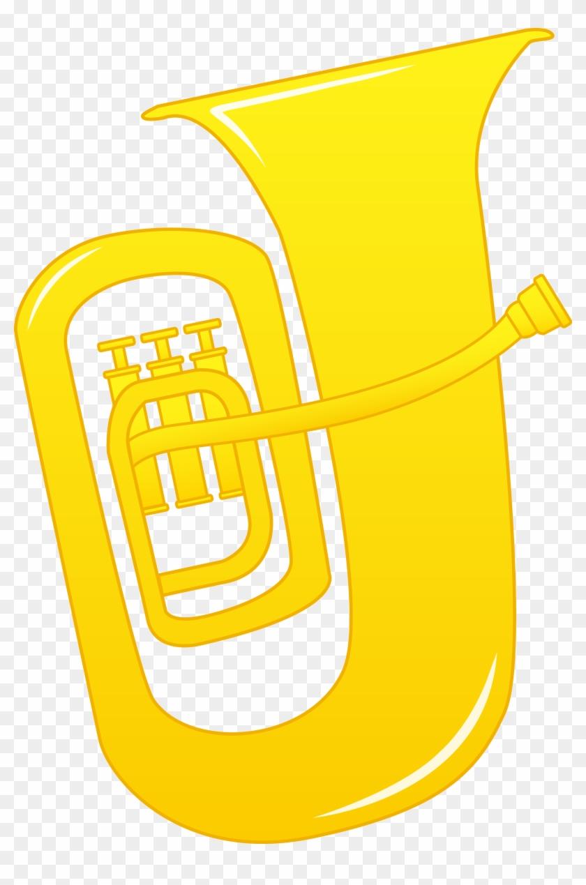 hight resolution of tuba clip art cartoon tuba 755369