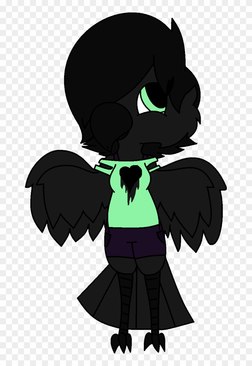 Undertale Oc Raven Redraw By Sammy Shinyvictini Cartoon Free Transparent Png Clipart Images Download